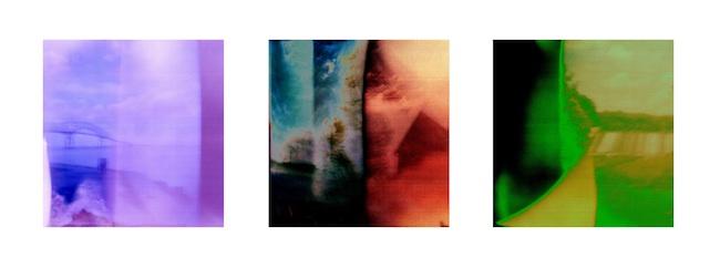 "Leo Hylan Title: Departure  Medium: Digitally Enhanced Holga Photography  Size: 16""X36"""