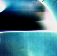 "Leo Hylan Title: Arctic Eclipse  Medium: Digitally Enhanced Holga Photography  Size: 16""x16"""