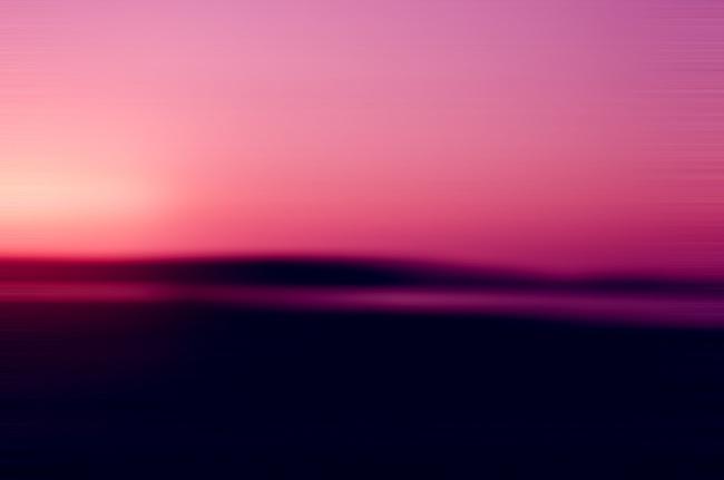 "Leo Hylan Title: Blurred Sunset  Medium: Photography  Size: 17""X24"""