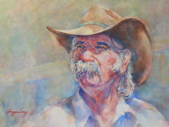 "Title: Jim  Medium: Watercolor  Size: 14"" x 20"""