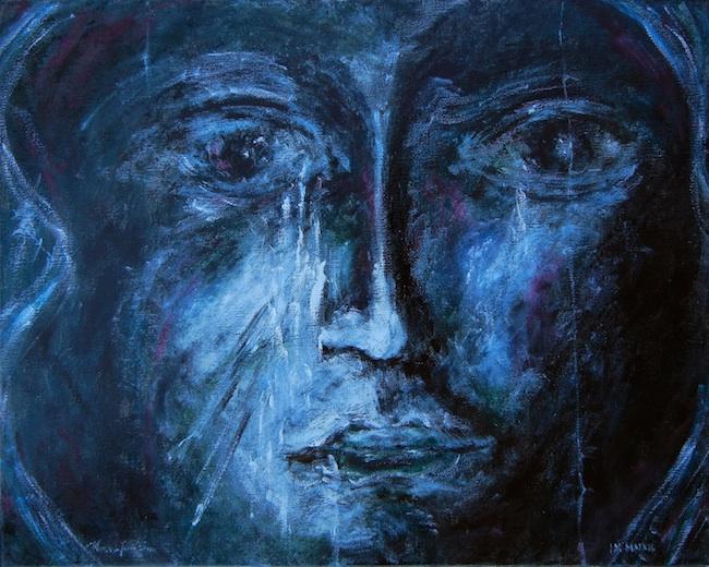 "Title: Icon Medium: Oil on Canvas Size: 16""x20"""