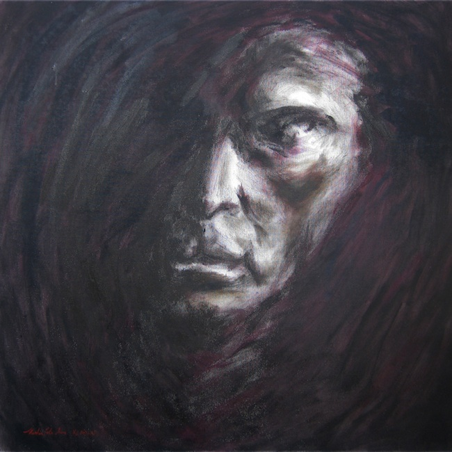 "Title: Pierce Medium: Oil on Canvas Size: 24""x24"""