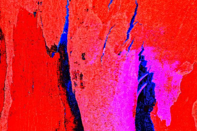 Title: Arctic Volcano Medium: Mixed media Size: 48x40
