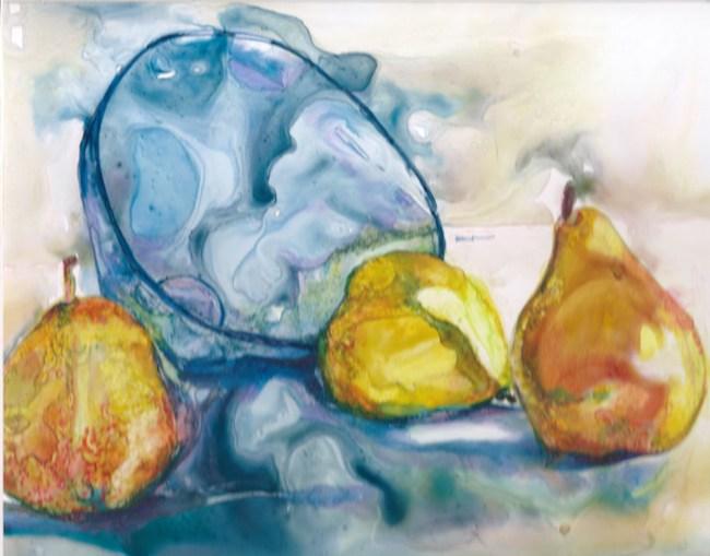 Title: Blue Bowl Medium: Watercolour Size: 8x11