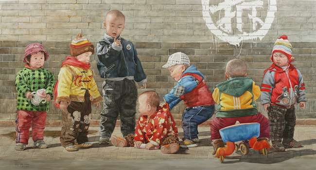 Title Whose kids are they? No.3 Medium	 Watercolor Size	 112x209cm