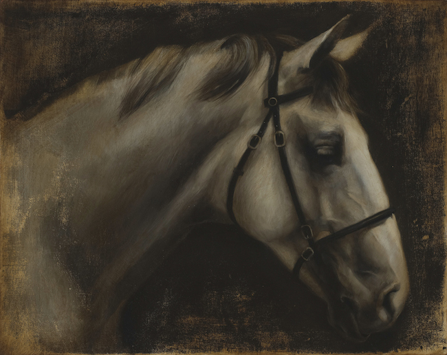 Title:Old Ghost Medium:Oil on Wood Size:24 in x 30 in