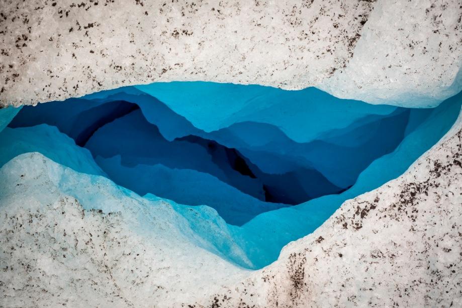 Title: Godwin's Abyss; Jump-able  Medium: Digital Photograph on Canvas Size: 36x72