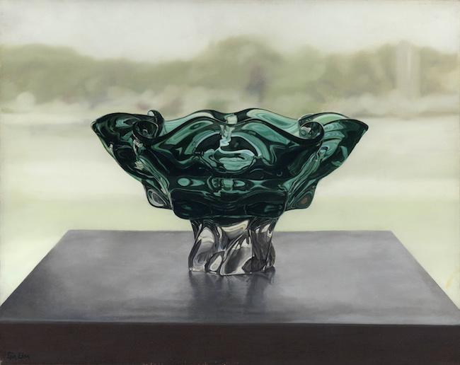 Title:Green Vase Medium: Oil Size:16x20