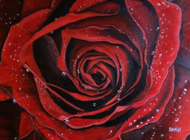 Title:Valentine's Medium: Oil Size:18x24