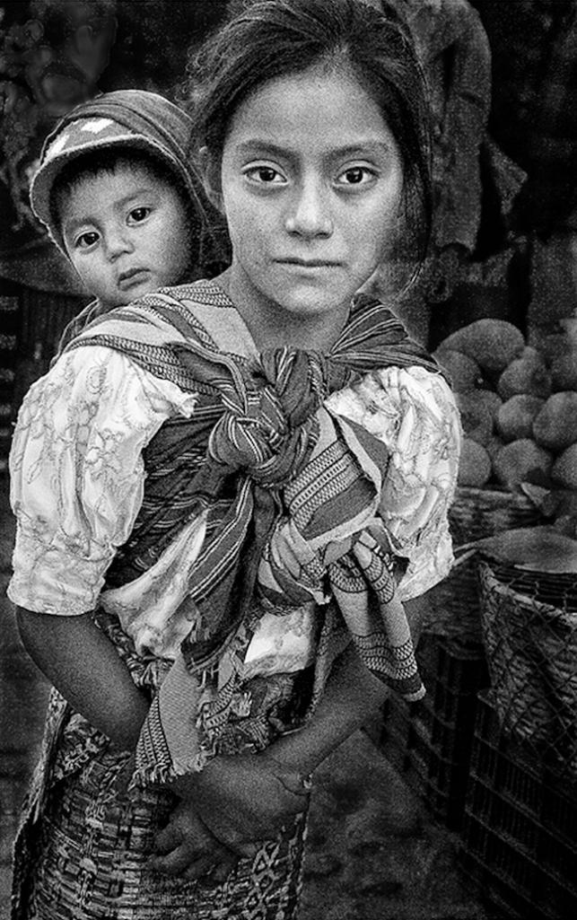 Title:Sad-Eyed Girl At the Market Medium:Digital Photography Size:17X23