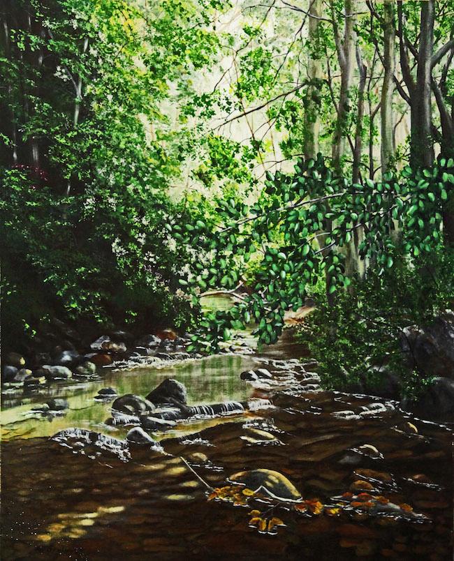 Title:Hidden Valley Medium:acrylic on canvas Size:30 x 24