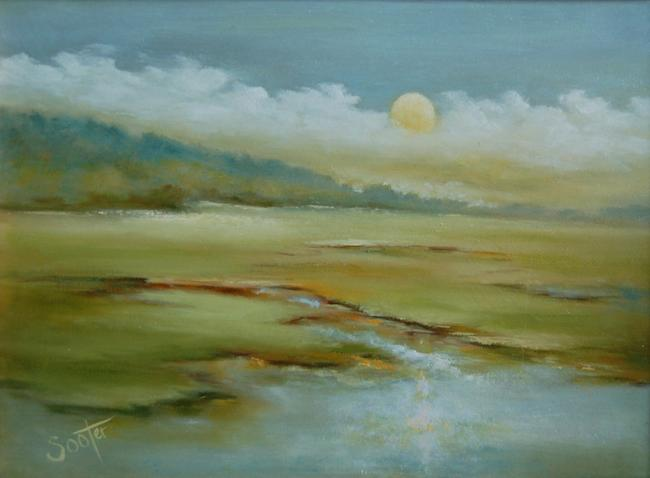"""Title:FALL COMES SOFTLY Medium:Oil Size:9""""x12"""""""