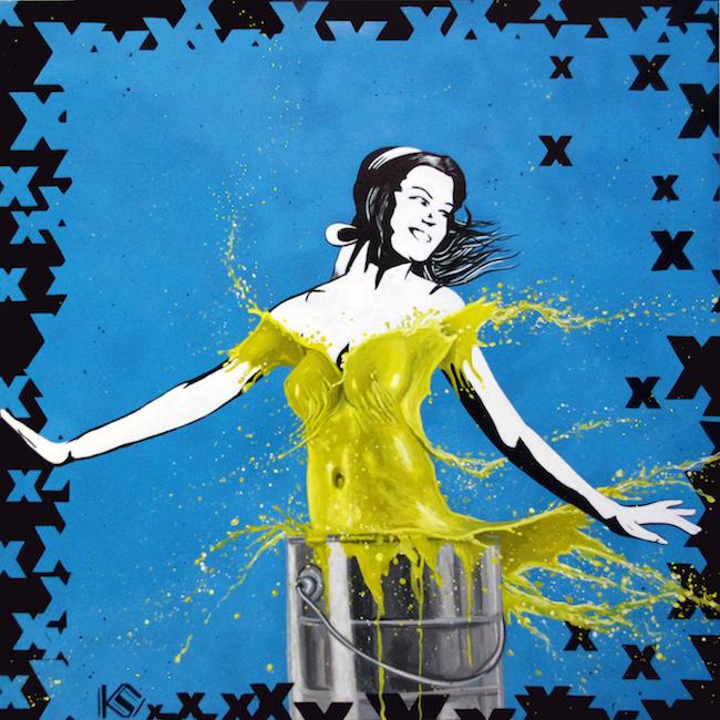 Title:Yellow No 5 Medium:Acrylic on Canvas Size:30x30