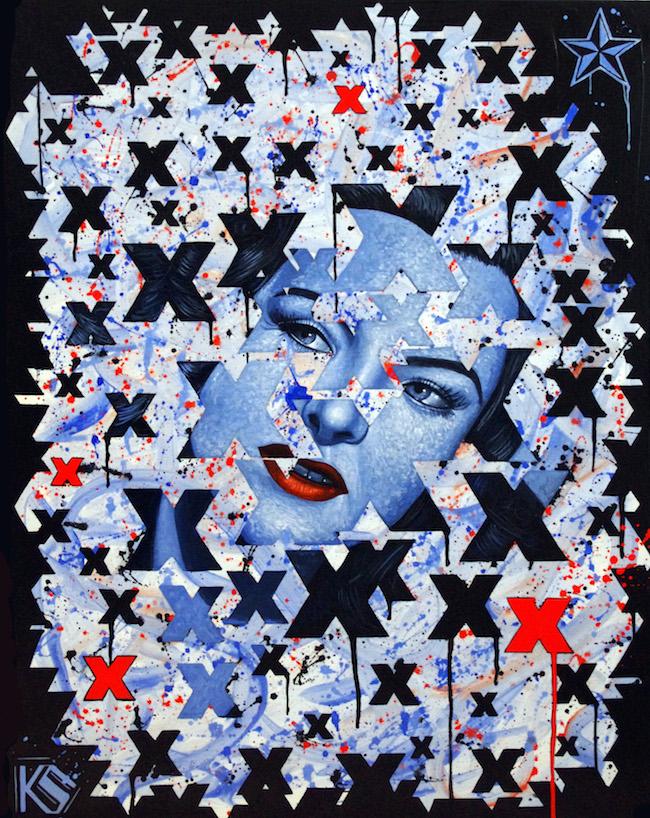 Title:Ella Raines Medium:Acrylic on Canvas Size:22x28