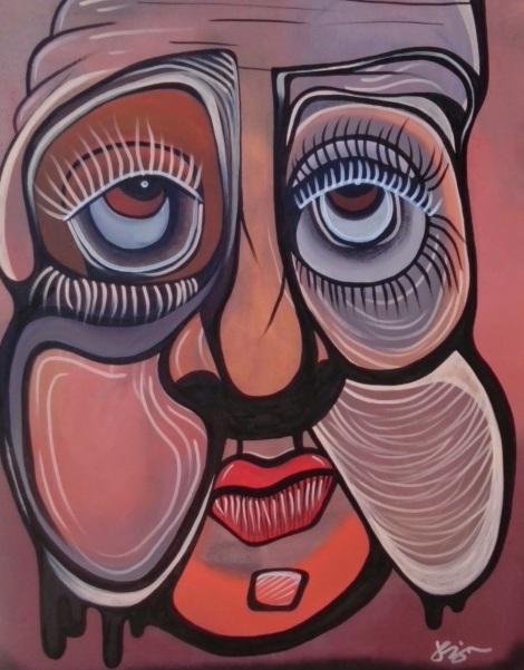 Title:A Sweet Soul Medium: Acrylic on Canvas. Size: 18x24