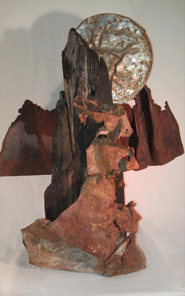 "Title:Lair Medium:Sculpture Size:21"" X 25"""