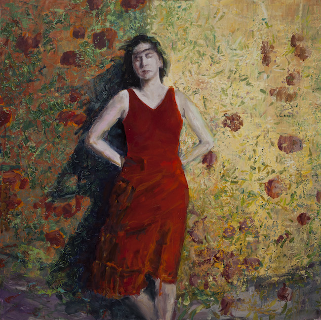 Title:Persephone Medium:	Oil on Canvas on Panel Size:	80 cm. sq.