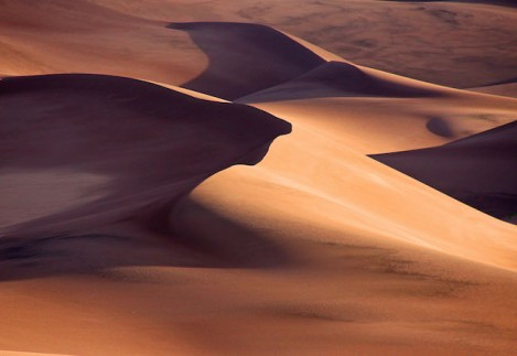 Title:	Great Sand Dunes at Sunrise Medium:	Photography Size:	9X12