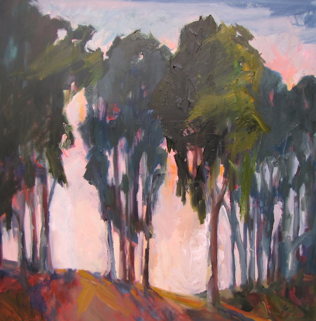 Title:Eucalypus Medium:	Oil on Canvas Size:	40x40 inches
