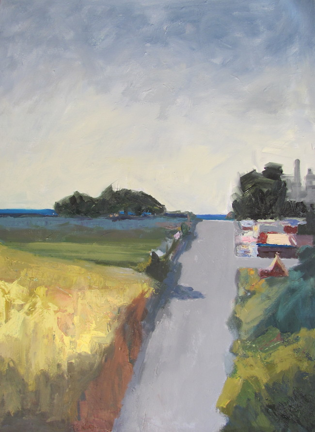 Title:Road to Davenport Medium:	Oil on Canvan Size:	40x30 inches