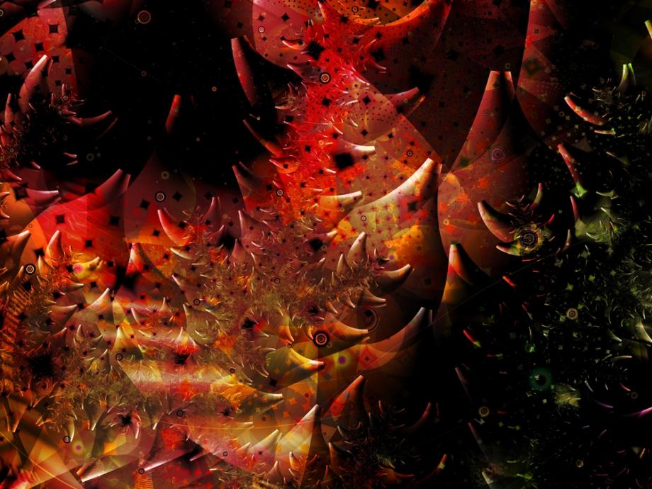 Title:Rock Garden of Earthly Delights B Medium:Digital on aluminum Size:40w x 30h