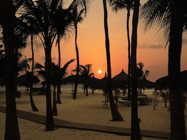 Title:Sunset Over Palapas Medium:photography Size:22x36