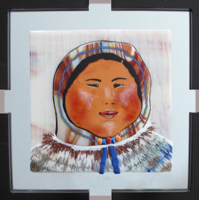 Title:Buniq Medium:Fused Glass Size:18 x 24
