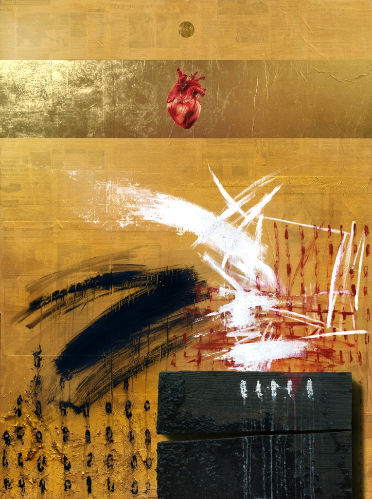 Title:Sacred Space #8 Medium:Mixed Media Size:48 x 36 inches