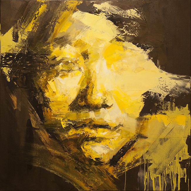 "Title:Divergence Medium:Oil on Canvas Size:36""x36"""