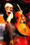 Tom McKeon – Evanston, IL TitleSarah Balliet   MediumDigital Painting   Size24x30