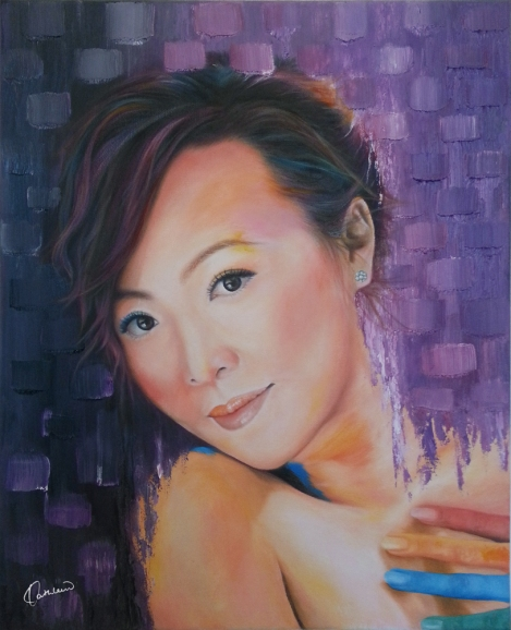 TitlePurple Gray   Medium Oil on canvas   Size40cm x 50cm
