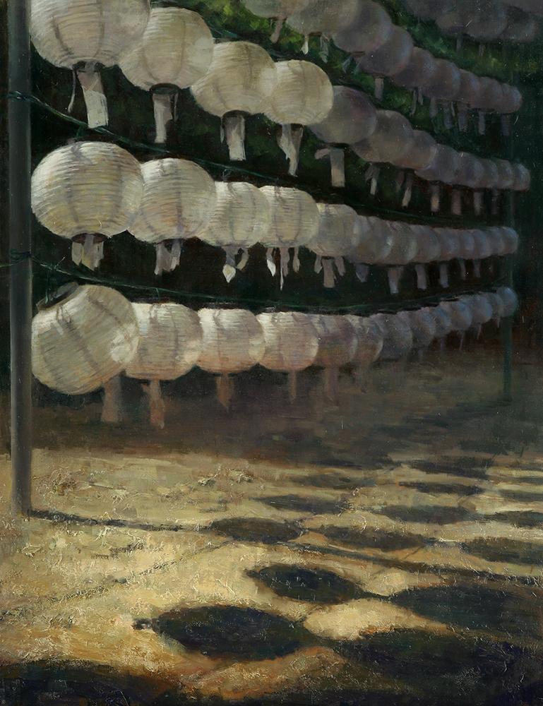 "Title Heaven's Door   Medium Oil on Canvas   Size 28""x22"""