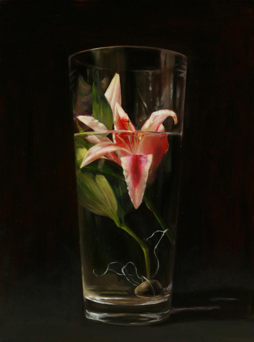 "Title Death #1   Medium Oil on Canvas   Size 24""x18"""