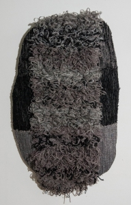 Title:Outerwear: Gray Medium: fiber Size:h: 32