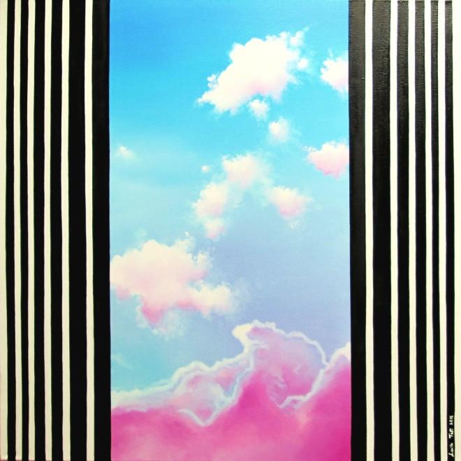Title la symphonie du fragment absolu   Medium painting (oil on canvas)   Size 60x60