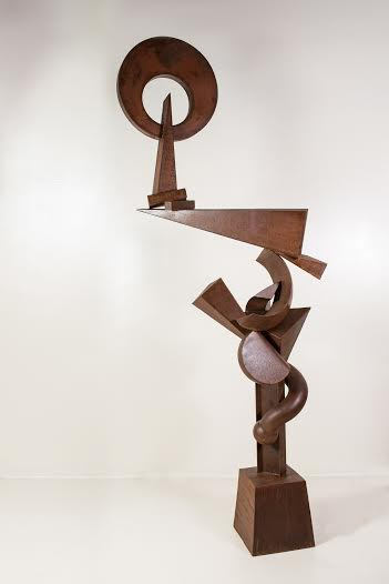 Title:Lobotomy Medium:steel sculpture Size:12' x 3' x 2'