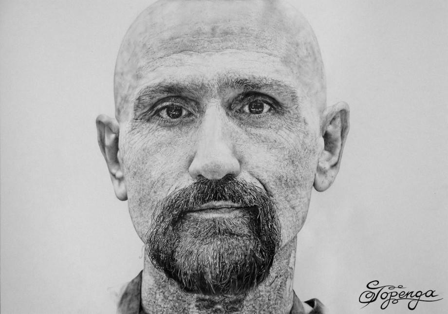 Title:Robert LaSardo Medium:Pencil Size:29,7 x 42 cm