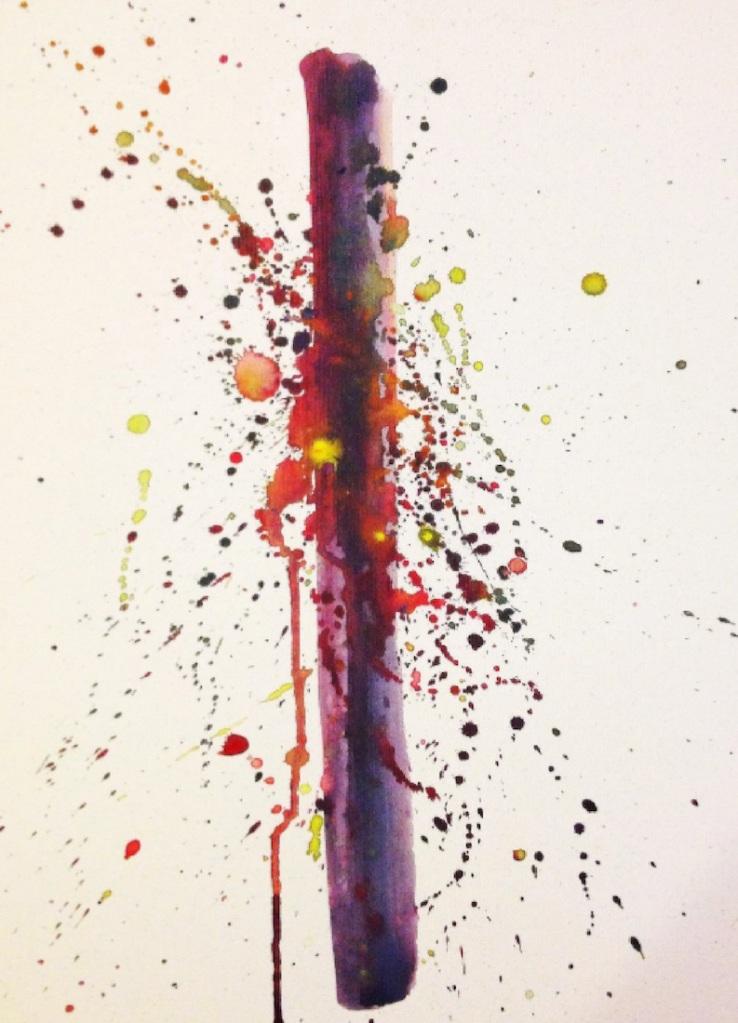 Title:Estrato III Medium:Watercolor on paper Size:29,7 x 42,0 cm