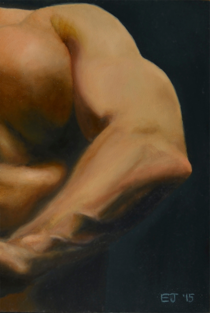 Title:Fortius Medium:Oil Size:6 in. x 11 in. (approx.)