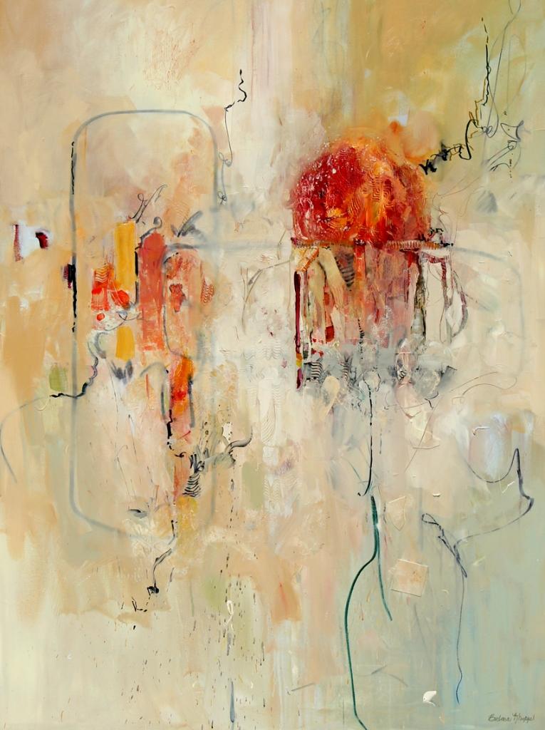 Title:The Mathematics of Love Medium:acrylic painting Size:48x36
