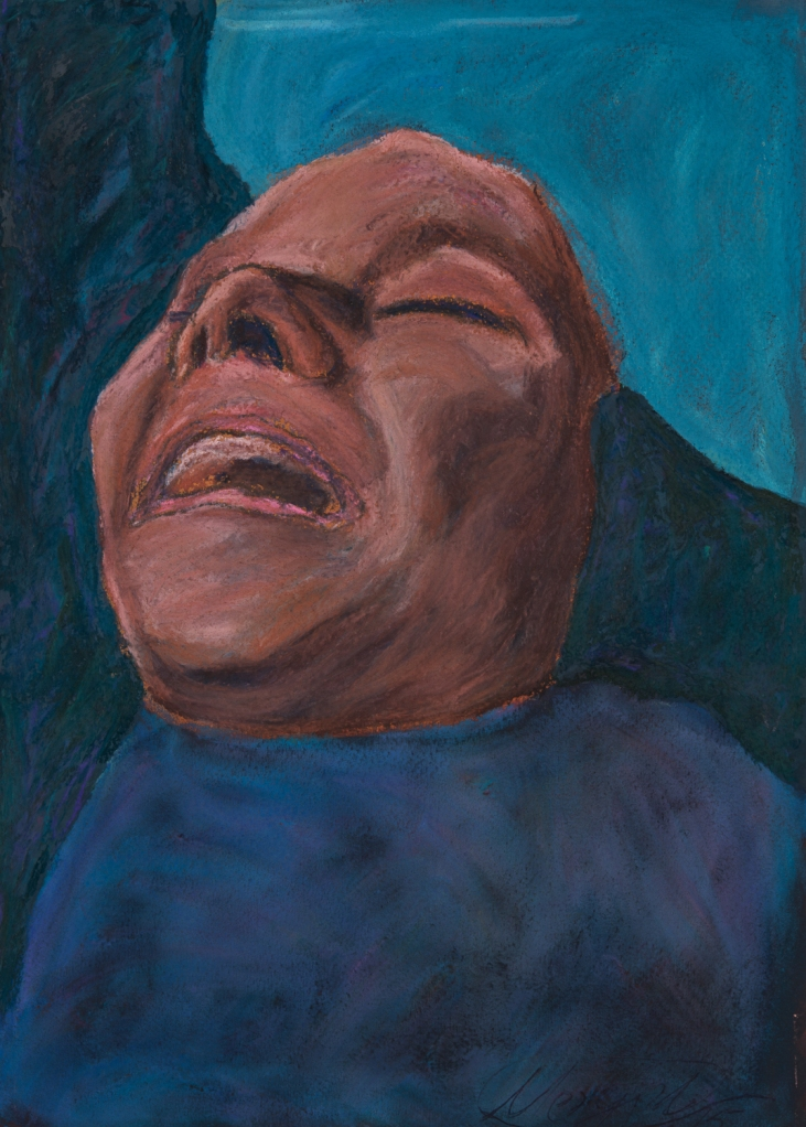 Title:INSPIRATION john lennon Medium:pastel on paper Size:30x20 cm