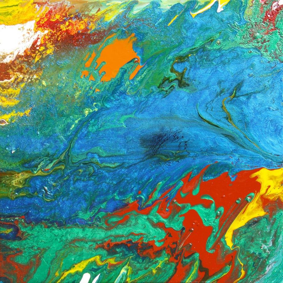"Title:Daydream Medium:Acrylic on Canvas Size:24""x24"""