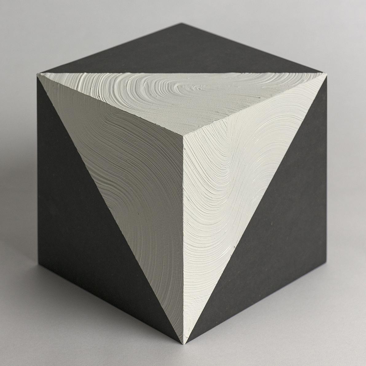 Title: Space | 空間 | No.1 Medium: Arcylic, wood cube Size: 15x15cm