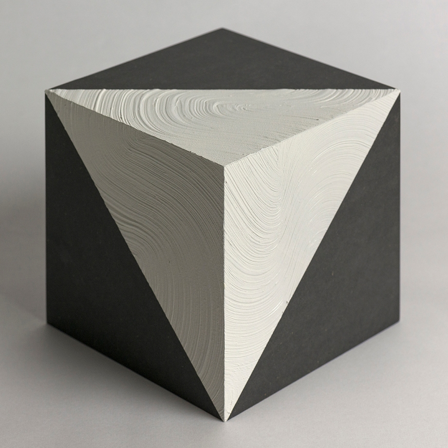 Title:Space | 空間 | No.1 Medium:Arcylic, wood cube Size:15x15cm