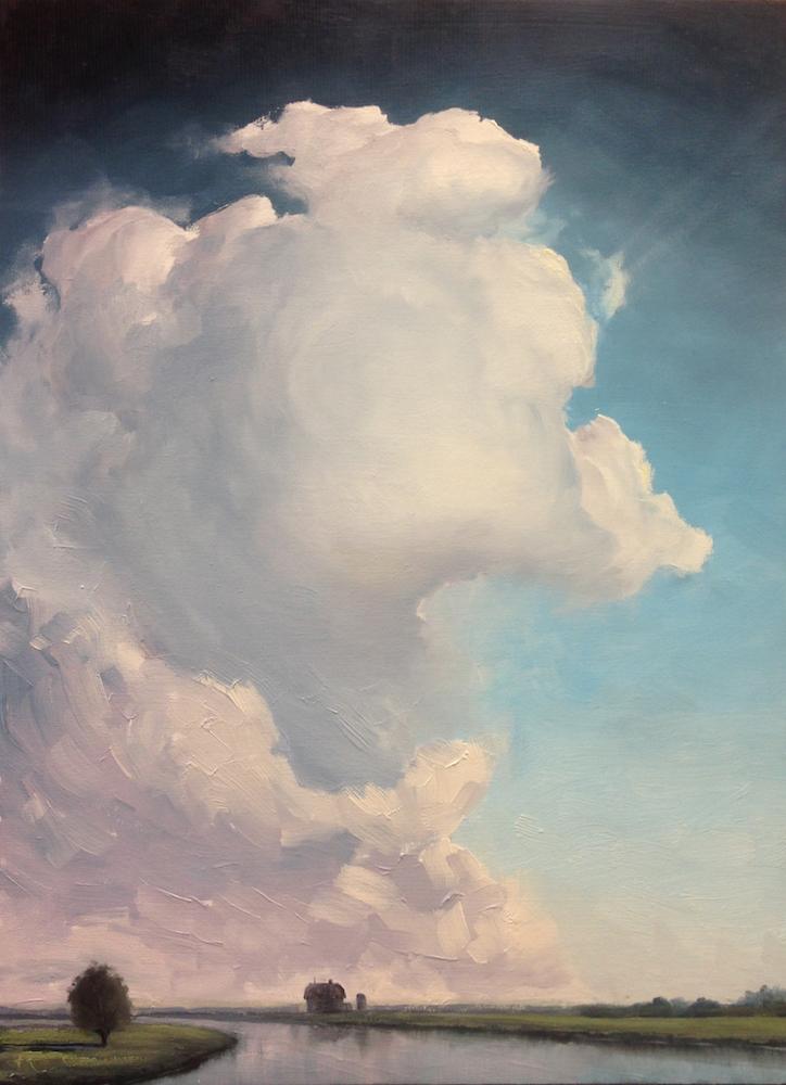 Title:AIR 42 Medium:oil on wood panel Size:20 x 15 inch / 52 x 38 cm