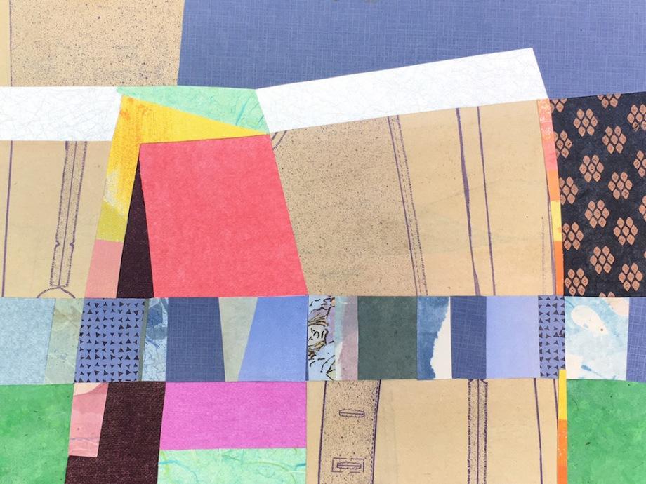 "Title:Structure Medium:Collage Size:11 x 14"""