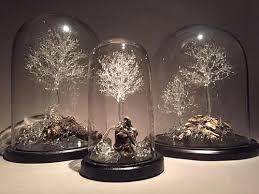 "Title:Palingenesia Trio Medium:Borosilicate Glass, Drift Wood Size:12"" W x 30"" L x 24"" H"