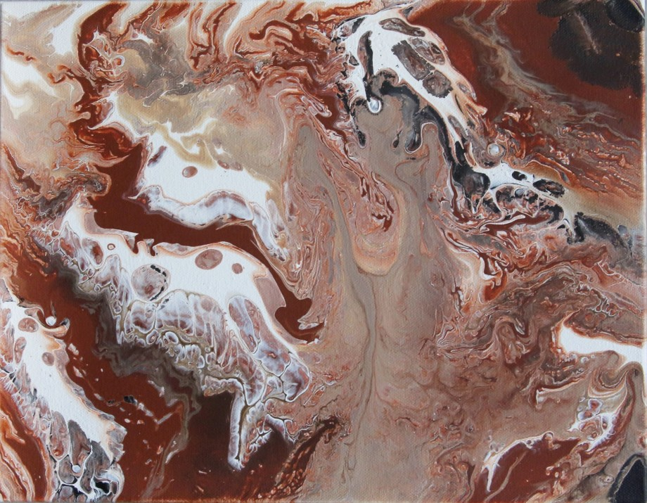 "Title: Jupiter Medium: Fluid Acrylics Size: 11"" X 14"""
