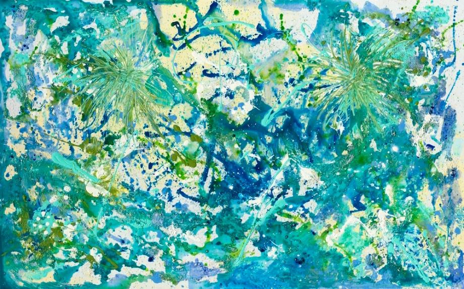 Title:Palmetto Confetti Medium:Acrylic Size:2000 X 1246 2.37
