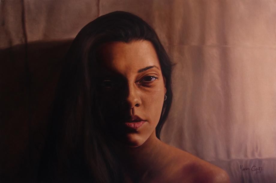 Title:Intimate Medium:Oil Size:80x120 cm (31,5 x 47,5 in)